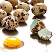 с перепелиными яйцами с фото