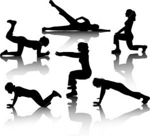 Упражнения Для Похудения Живота Фото