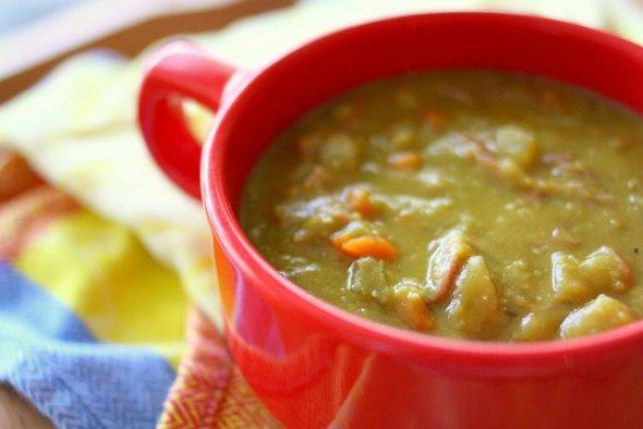 гороховый суп рецепт калории